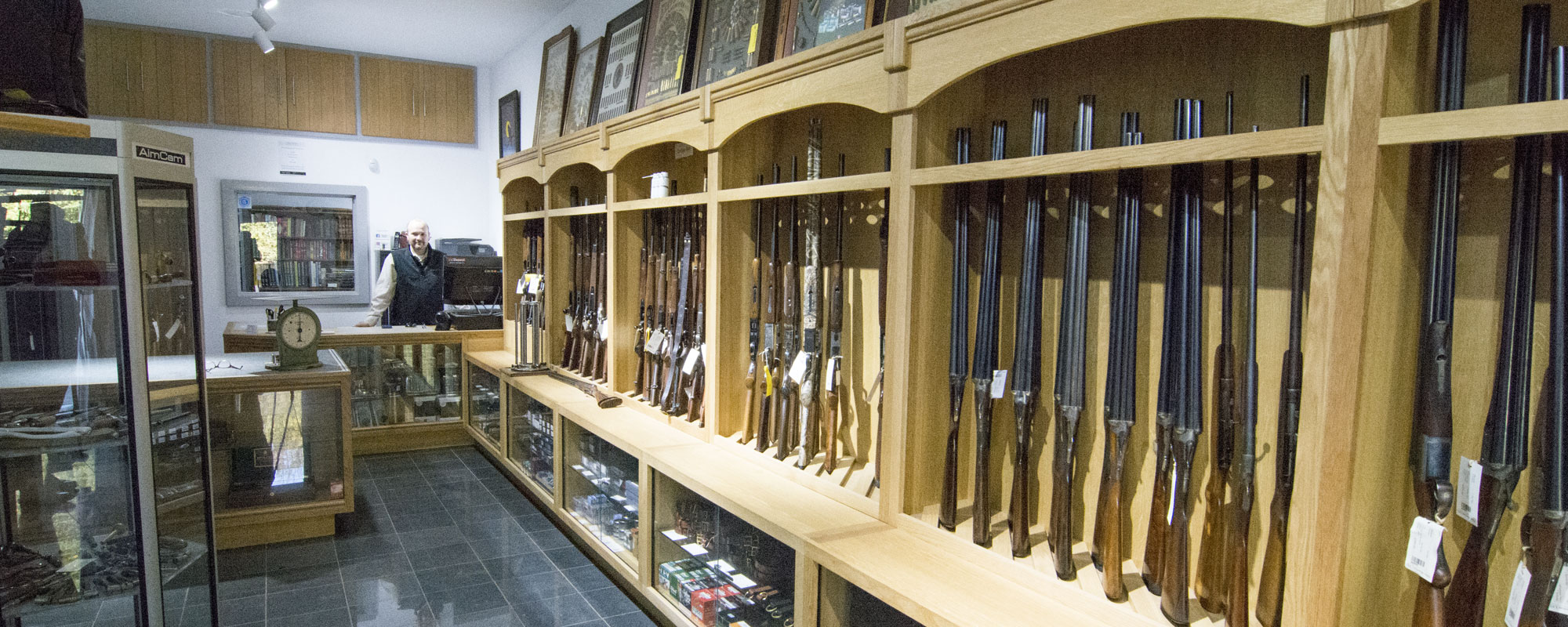 Gun showroom